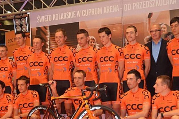 1478f752 Velonews.pl   Wydarzenia - - Prezentacja ekipy CCC Polsat Polkowice 2014